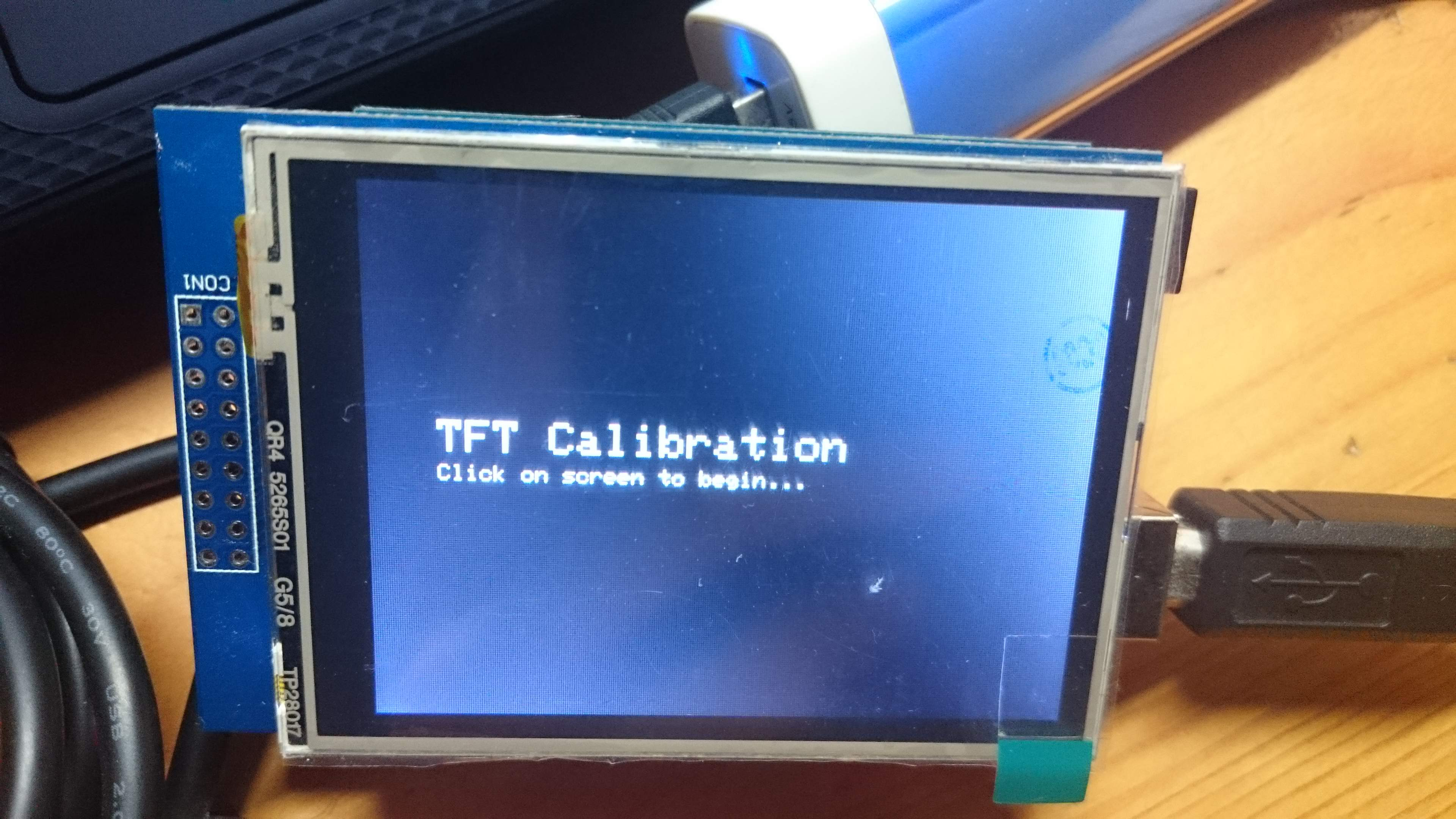 2 8″ TFT LCD Touchscreen Shield – Cyan Infinite
