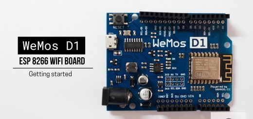 Getting started with the WeMos D1 ESP8266 WiFi Board – Cyan Infinite